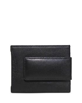 BOCONI - Grant Leather Money Clip Card Case