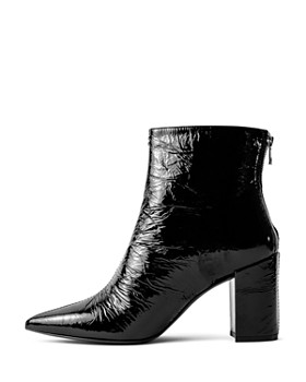 d9bbc15380c ... Zadig & Voltaire - Women's Glimmer Block Heel Ankle Boots