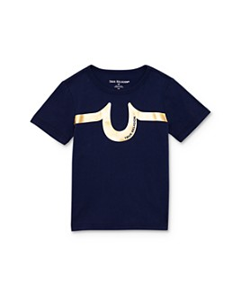 True Religion - Boys' Metallic Logo Tee - Little Kid, Big Kid