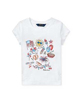 Ralph Lauren - Girls' Graphic Tee - Little Kid