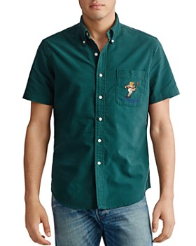 Polo Ralph Lauren - Short-Sleeve Classic Fit Rugby Bear Shirt
