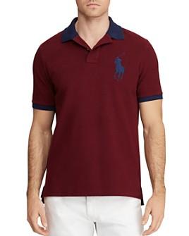 Polo Ralph Lauren - Custom Slim Fit Contrast-Trim Mesh Polo