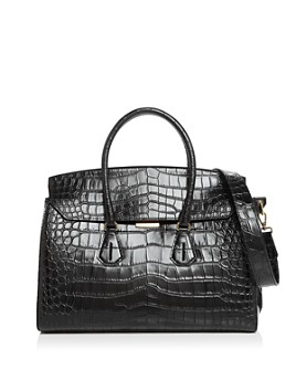 Bally - Saphyr Croc-Embossed Tote
