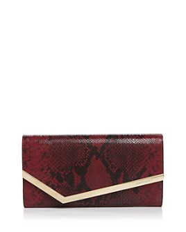 Jimmy Choo - Emmie Snake-Print Chain Wallet - 100% Exclusive