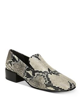 Via Spiga - Women's Baudelaire Leather Loafers