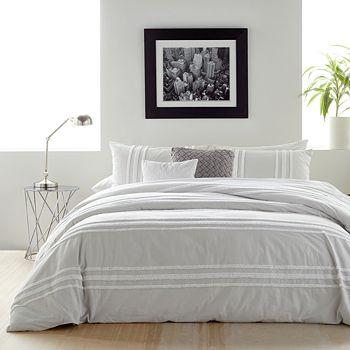 DKNY - Chenille Stripe Comforter Set, King