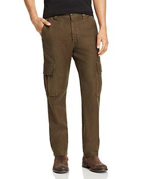 AG - Slim Fit Cargo Pants in Dark Algae - 100% Exclusive