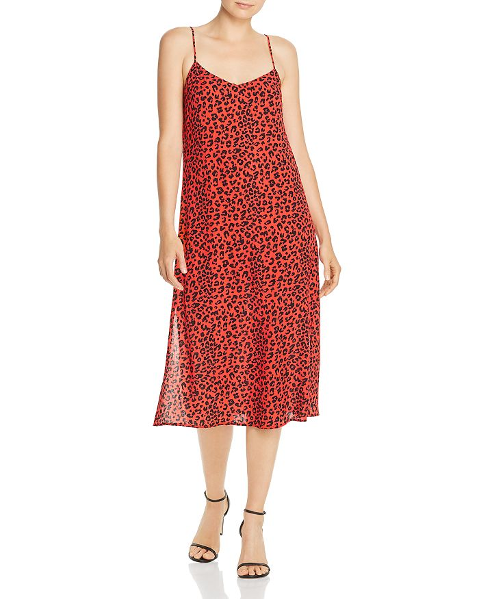 Charlie Holiday - Feline Leopard-Print Midi Dress