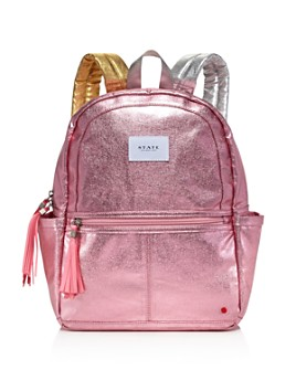 STATE - Girls' Metallic Backpack