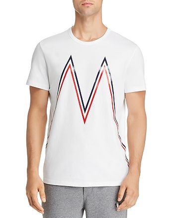 Moncler - Maglia Large-Logo Graphic Tee