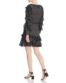 Rebecca Taylor - Ruffled Cheetah-Print Dress