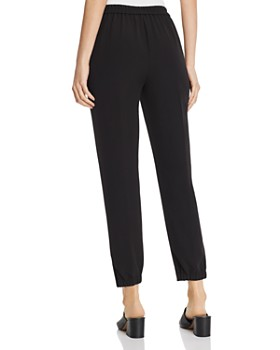 Eileen Fisher - Cropped Pull-On Pants
