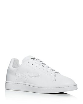 Y-3 - Men's Yohji Court Leather Low-Top Sneakers