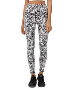 Nike One Leopard Print Leggings | Bloomingdale's