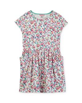 Joules - Girls' Jude Floral-Print Dress - Little Kid, Big Kid