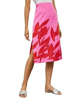 Ted Baker - Luucas Sour-Cherry-Print Skirt