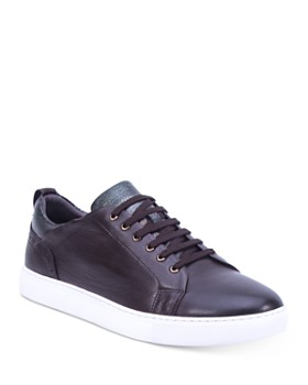 Robert Graham - Men's Loman Leather Lace-Up Sneakers