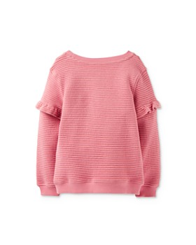 Joules - Girls' Tiana Ruffle-Sleeve Star Sweater - Little Kid, Big Kid