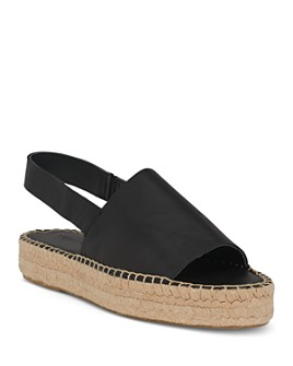Whistles - Women's Nile Platform Espadrille Slingback Sandals