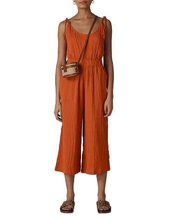 Whistles - Mila Cropped Wide-Leg Jumpsuit