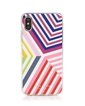 kate spade new york - Glitter Geobrella iPhone XR & XS Case