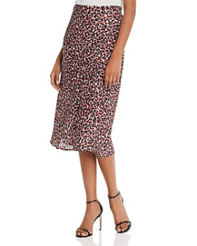 Sanctuary - Leopard-Print Everyday Midi Skirt