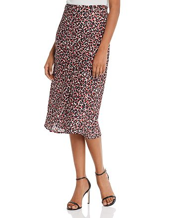 Sanctuary - Leopard-Print Everyday Midi Skirt
