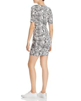 Enza Costa - Snakeskin Printed Mini Dress