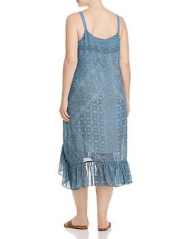 NIC and ZOE Plus - Santorini Tiles High/Low Tank Dress