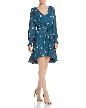 Joie Dresses MARLAYNE FLORAL-PRINT HIGH/LOW DRESS - 100% EXCLUSIVE