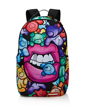 Sprayground - Girls' Gummy-Bear Lips Backpack