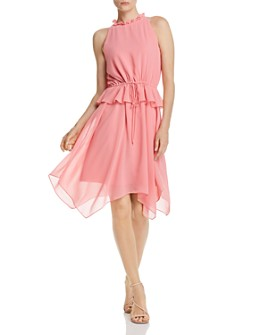 Sam Edelman - Ruffled Handkerchief Dress