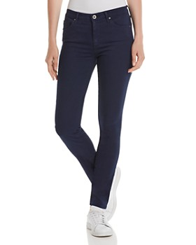 AG - Prima Mid-Rise Skinny Jeans in Deep Trenches