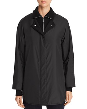 Lafayette 148 New York - Mackay Knit-Collar Coat
