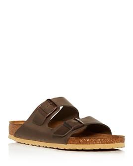 Birkenstock - Men's Arizona Leather Slide Sandals