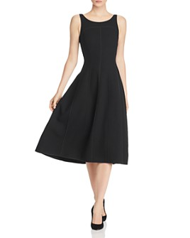 Narciso Rodriguez - Piped Wool-Blend Midi Dress