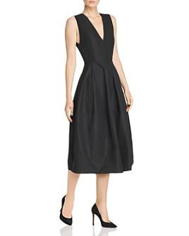 Narciso Rodriguez - Cotton Taffeta A-Line Midi Dress