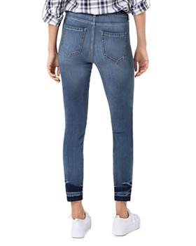 Liverpool - Abby Released-Hem Skinny Jeans in Palmer Navy