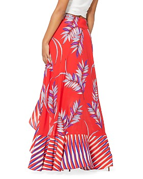 5ee2710d8 ... Ramy Brook - Kyle Palm-Print Silk Blend Maxi Skirt