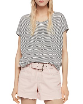 ALLSAINTS - Brea Striped Tee