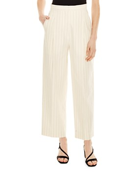 Sandro - Davis Striped Wide-Leg Pants