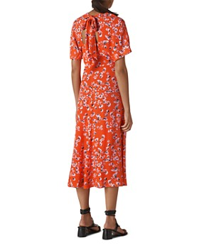 Whistles - Zelena Digital-Daisy-Print Dress
