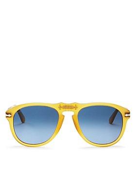 Persol - Unisex Miele Aviator Sunglasses, 54mm