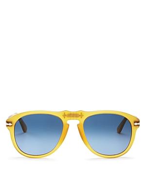 Persol Sunglasses UNISEX MIELE AVIATOR SUNGLASSES, 54MM