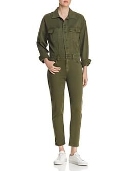 Hudson - Sloane Cropped Utility Jumpsuit