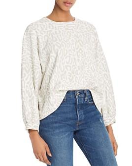 Rebecca Minkoff - Rosie Leopard-Print Sweatshirt