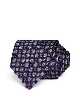Canali - Circle Square Medallion Classic Tie