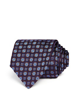 Canali - Circle Square Medallion Classic Tie