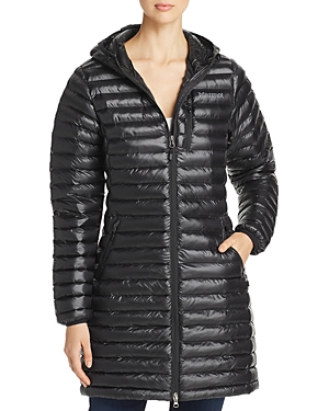 Marmot Avant Featherless Hooded Long Puffer Coat