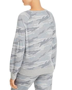 Marc New York - Puffed-Sleeve French Terry Sweatshirt